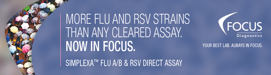 More flu and rsv strains than any cleared assay