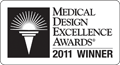 Medical Design Excellence Awards 2011 Winner Logo